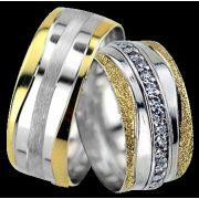 ARANY Bicolor Karikagyűrű – TS1232