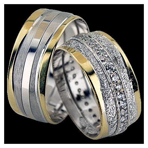 ARANY Bicolor Karikagyűrű – TS1242
