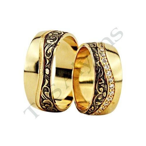 ARANY Bicolor Karikagyűrű – TS1251