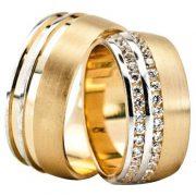 ARANY Bicolor Karikagyűrű – TS1254