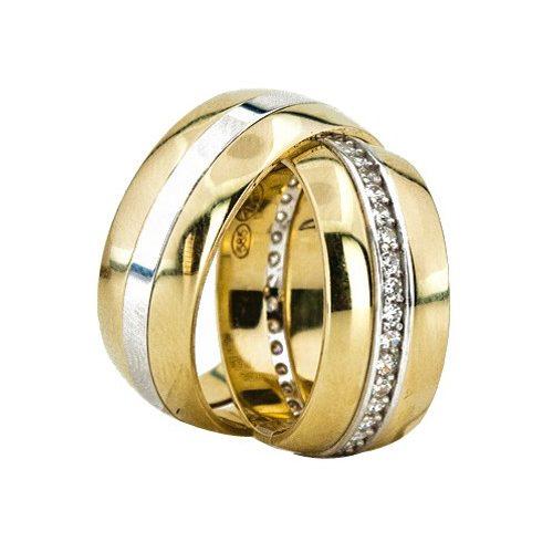 ARANY Bicolor Karikagyűrű – TS1261