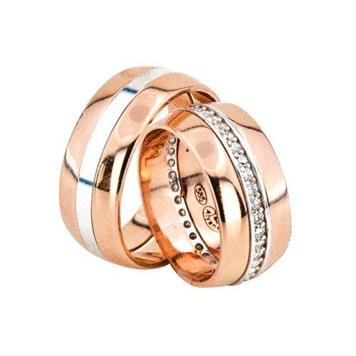 ARANY Bicolor Karikagyűrű – TS1262
