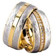 ARANY Bicolor Karikagyűrű – TS1264