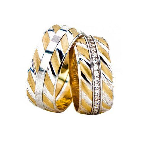ARANY Bicolor Karikagyűrű – TS1265