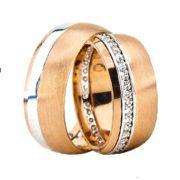 ARANY Bicolor Karikagyűrű – TS1268