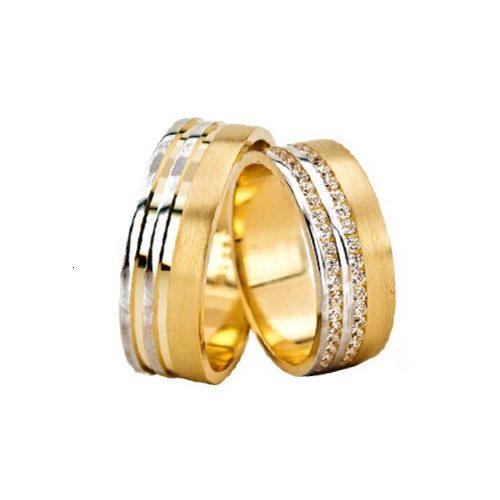 ARANY Bicolor Karikagyűrű – TS1270