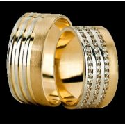 ARANY Bicolor Karikagyűrű – TS1271
