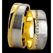 ARANY Bicolor Karikagyűrű – TS1273