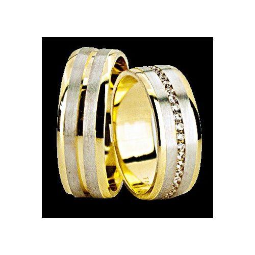 ARANY Bicolor Karikagyűrű – TS1274