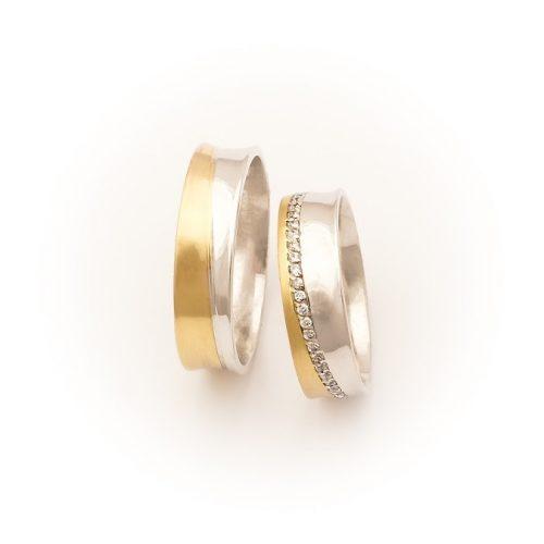 ARANY Bicolor Karikagyűrű – TS1281