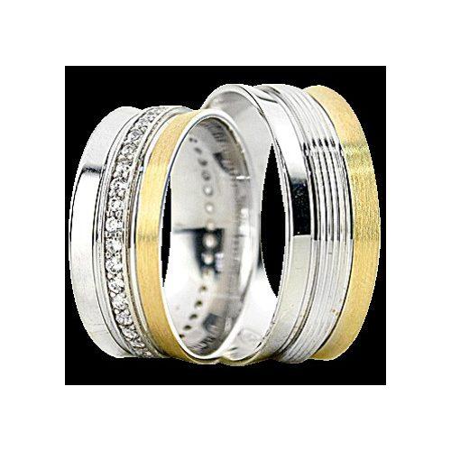 ARANY Bicolor Karikagyűrű – TS1284