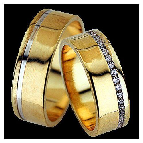 ARANY Bicolor Karikagyűrű – TS1288