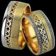 ARANY Bicolor Karikagyűrű – TS1289