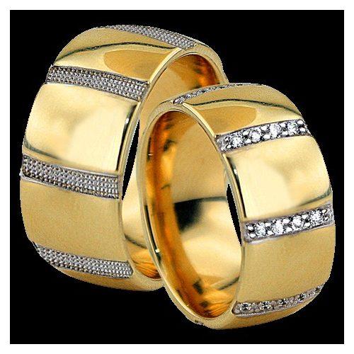 ARANY Bicolor Karikagyűrű – TS1293
