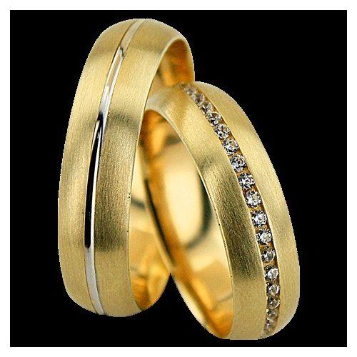 ARANY Bicolor Karikagyűrű – TS1295