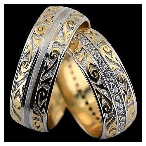 ARANY Bicolor Karikagyűrű – TS1298