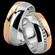 ARANY Bicolor Karikagyűrű – TS1299