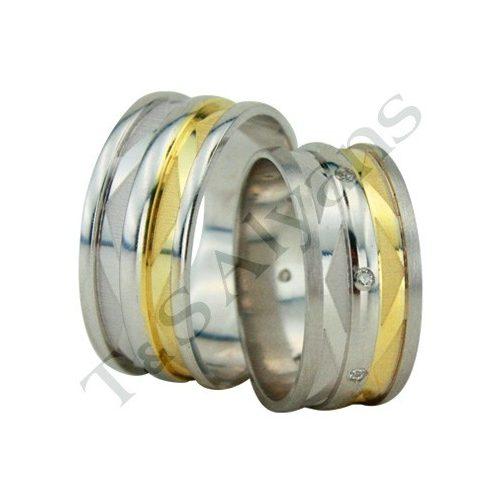 ARANY Bicolor Karikagyűrű – TS1303