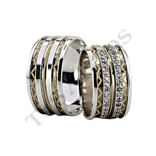 ARANY Bicolor Karikagyűrű – TS1312