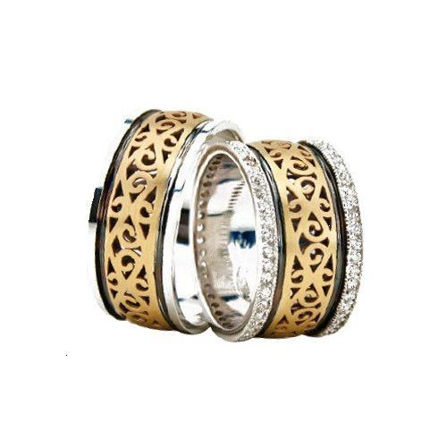 ARANY Bicolor Karikagyűrű – TS1318