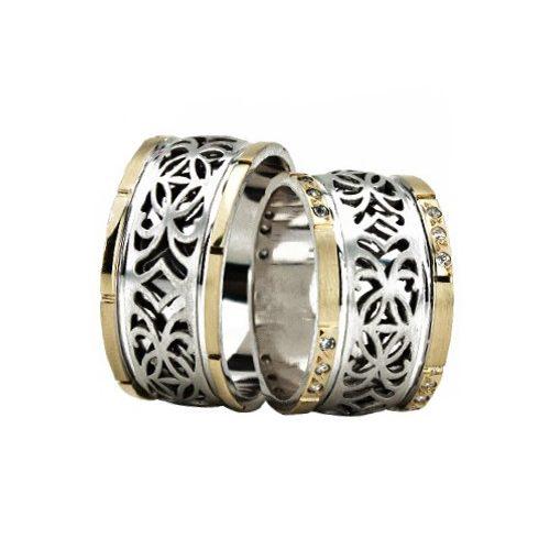 ARANY Bicolor Karikagyűrű – TS1319