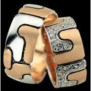 ARANY Bicolor Karikagyűrű – TS132