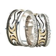 ARANY Bicolor Karikagyűrű – TS1324