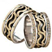 ARANY Bicolor Karikagyűrű – TS1325