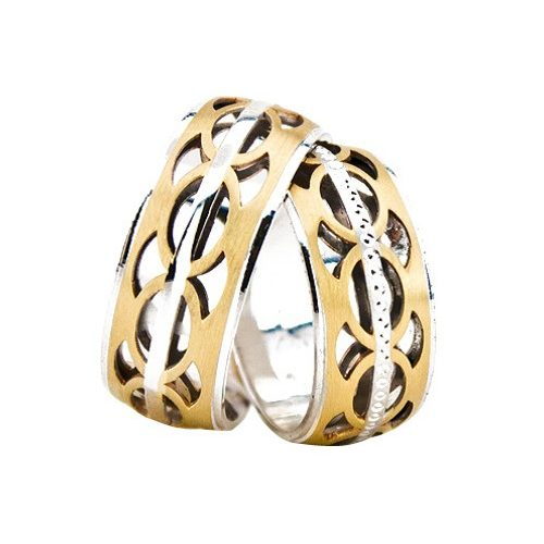 ARANY Bicolor Karikagyűrű – TS1328