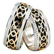 ARANY Bicolor Karikagyűrű – TS1329