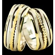 ARANY Bicolor Karikagyűrű – TS1330