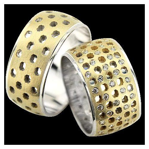 ARANY Bicolor Karikagyűrű – TS1354