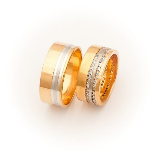 ARANY Bicolor Karikagyűrű – TS1355