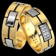 ARANY Bicolor Karikagyűrű – TS1356