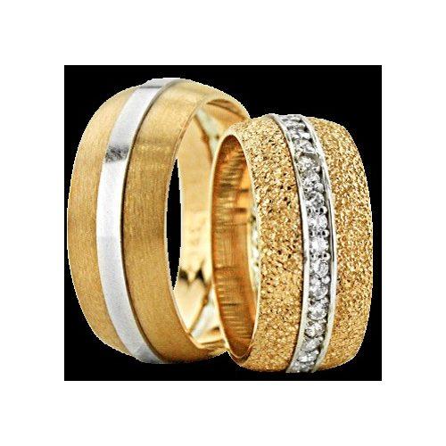 ARANY Bicolor Karikagyűrű – TS1361