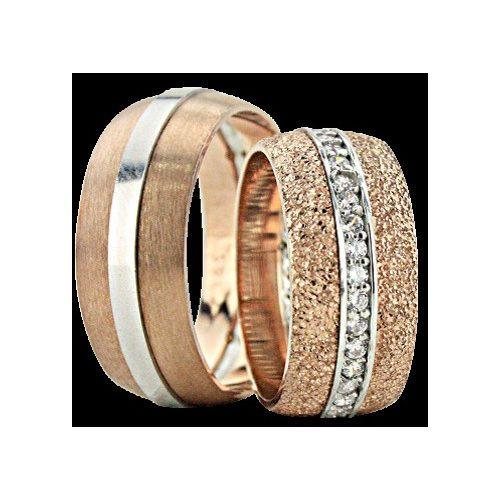 ARANY Bicolor Karikagyűrű – TS1362