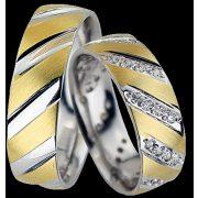 ARANY Bicolor Karikagyűrű – TS1364