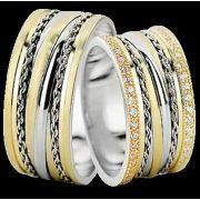 ARANY Bicolor Karikagyűrű – TS1371