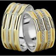 ARANY Bicolor Karikagyűrű – TS1373
