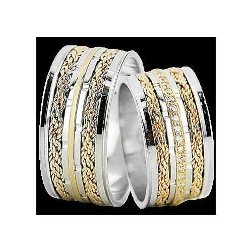ARANY Bicolor Karikagyűrű – TS1374