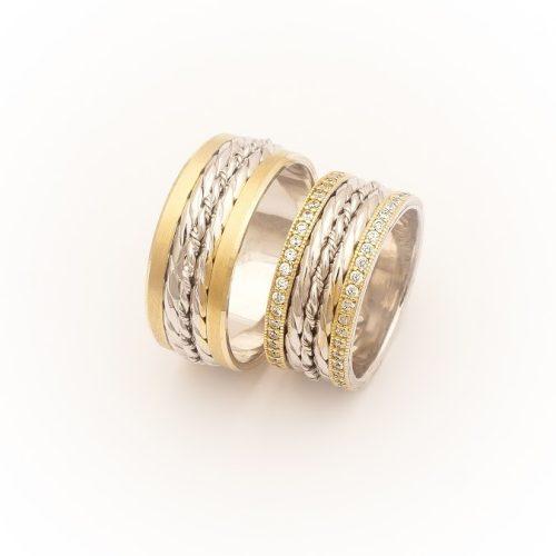 ARANY Bicolor Karikagyűrű – TS1377