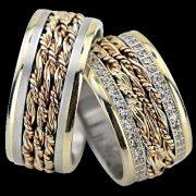 ARANY Bicolor Karikagyűrű – TS1379