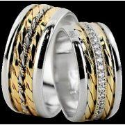 ARANY Bicolor Karikagyűrű – TS1388