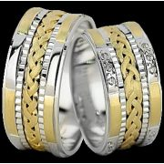 ARANY Bicolor Karikagyűrű – TS1390