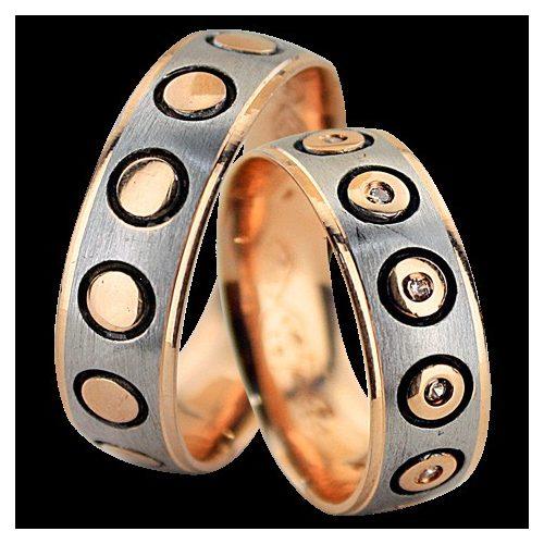 ARANY Bicolor Karikagyűrű – TS148
