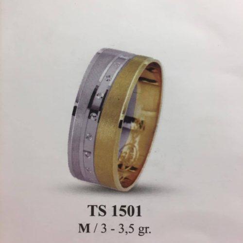 ARANY Bicolor Karikagyűrű – TS1501
