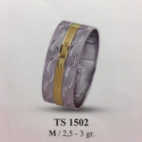 ARANY Bicolor Karikagyűrű – TS1502