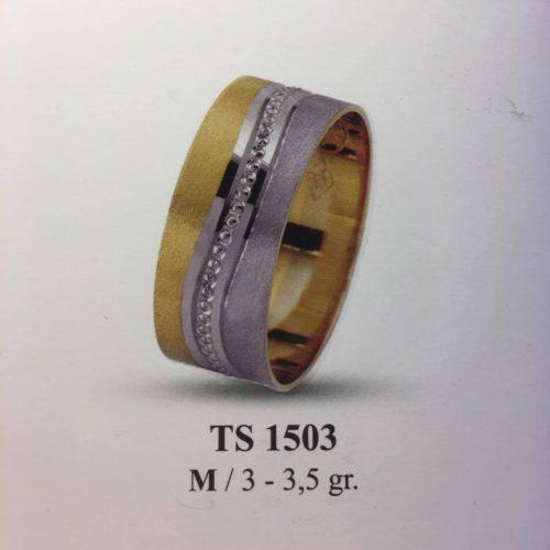 ARANY Bicolor Karikagyűrű – TS1503