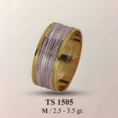 ARANY Bicolor Karikagyűrű – TS1505