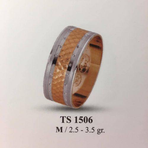 ARANY Bicolor Karikagyűrű – TS1506